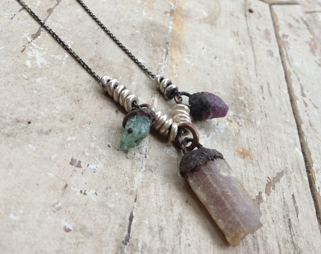Tourmaline taw stones